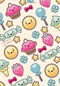 Sweet Kawaii Journal Notebook: With Lined and Blank Pages for Writing & Drawing; Cute Notebook for Girls & Teens With Popular Kawaii Pattern