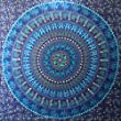 Elephant Tapestry hippie tapestry mandala tapestry wall hanging wall decor home decor (Blue)