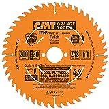 CMT 272.200.48M Lama Circolare Itk-Plus per Taglio Traverso Vena, Arancio
