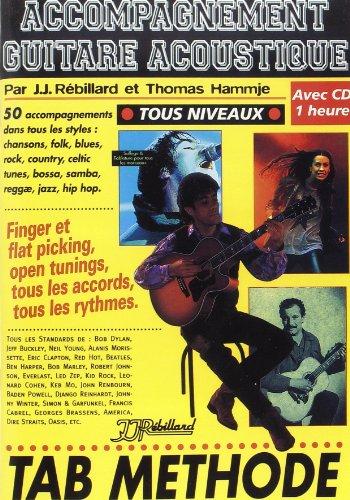 Accompagnement Guitare Acoustique Rebillard CD