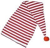 Maxi Schlafmütze für Erwachsene Rot Weiß