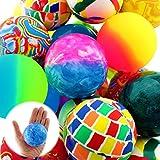 Henbrandt Flummi Gummiball Dopsball Groß XL ca.60mm Springball Motive Bunt Mitgebsel