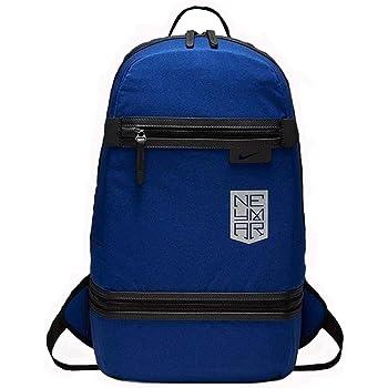 Nike Men Neymar Backpack - Deep Royal Blue Black Metallic Silver d2d6c620b09c6
