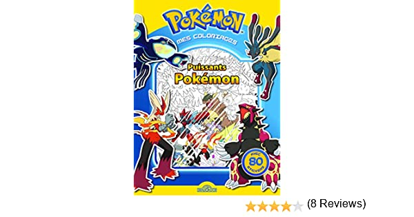 Mes Coloriages Puissants Pokemon Amazon Fr The Pokemon Company