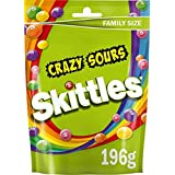 Skittles Fruit Candy (Crazy Sours) - 196g