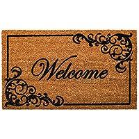 Evergreen elegante Welcome tappetino in fibra di cocco, 71,1x 40,6cm