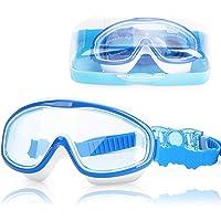 DasMeer Kids Swimming Goggles, Swimming Goggles Kids Anti-Fog Anti-Leak UV Protection Large Swim Goggles Kids No Leaking…