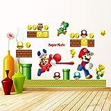 Stickers Muraux Super Mario pour Enfants