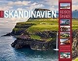 Skandinavien 2019, Wandkalender im Querformat (54x42 cm) - Reisekalender Norwegen, Schweden, Finnland, Dänemark und Island mit Monatskalendarium