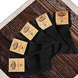 Classique Rob & Dave's Chaussette Unisexe - 5/10 paires - Noir/Bleu Marine - Chaussettes Hommes - Chaussettes Femmes - Chaussette de marque sans coutures - Eté comme hiver - des chaussettes confort