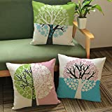 #10: Aart Abstract Designer Cushion Cover with Fillers (Set of 3) by Aart Store