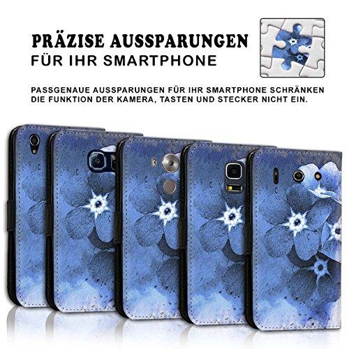 Wallet Book Style Flip Handy Tasche Case Schutz Hülle Schale Motiv Etui für Apple iPhone 6 Plus / 6S Plus - Variante UMV3 Design12 Design 11