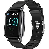 LEBEXY Smartwatch Schrittzähler Fitness Armband Tracker, Wasserdicht IP68 Fitnessuhr Aktivitätstracker Sportuhr mit…