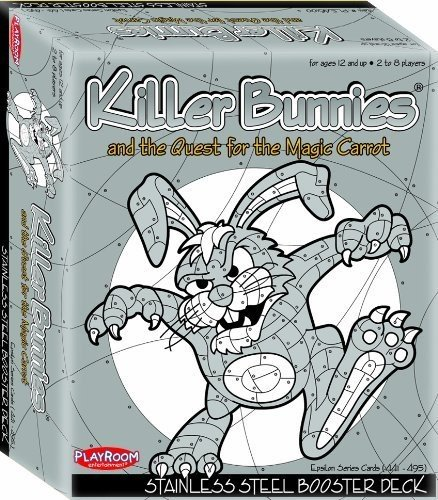 Killer Bunnies and the Quest for the Magic Carrot: Stainless Steel Booster Deck