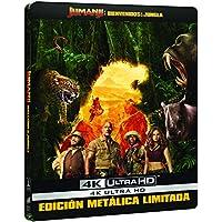 Jumanji: Bienvenidos A La Jungla (4K UHD) - Edición Especial Metal Exclusiva Amazon