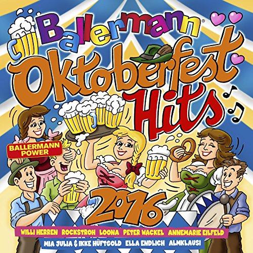 Ballermann Oktoberfest Hits 2016