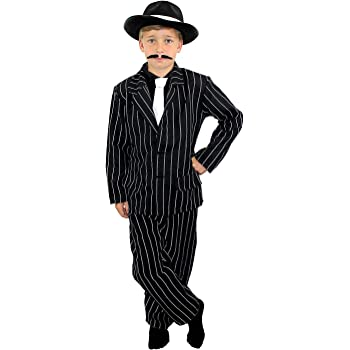 c5944b7bb58c Gangster 1920 s Children s Fancy Dress Costume 10-11 Years by ...