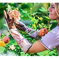 Garden Girl Rose Gloves Classic Fresh, Brown/Beige, 46.5x14x3 cm