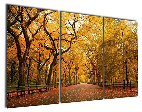 Gardenie Kunst-Romantische Old Gold Ahorn Kunstdruck auf Leinwand Modern Art Wand Gemälde Giclée Kunstwerk für Raum Dekoration, 40,6x 61cm, ungerahmt, -