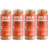 Omay Foods Roasted Solid Soyabean - Protein Rich, 160 G, Pack of 4 I Oil-Free, Roasted, Ready-to-Eat Snack I High in Protein,