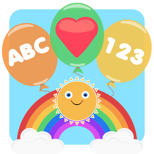 Balloon Play - pop and learn: A fun Educational game for young children and toddlers.