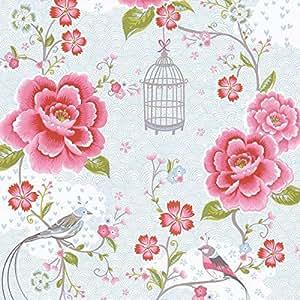 Pip studio tapete birds in paradise weiss 313012 amazon - Pip studio tapete ...