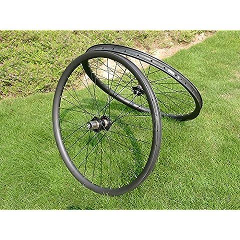 Toray carbono llantas Full Carbon 3K Matt 29er para bicicleta de montaña Clincher Wheel Rim Disco de freno para bicicleta MTB