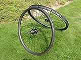 Toray Carbon Laufradsatz Full Carbon 3K Matt 29er Mountainbike Drahtreifen Felge Bremse, Fahrrad MTB Laufradsatz