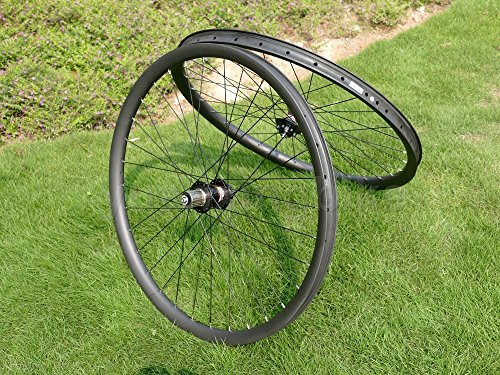 Toray carbono llantas Full Carbon 3K brillante bicicleta de montaña 29er Clincher Wheel Rim Disco de freno para bicicleta MTB Ruedas