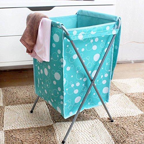 mark8shop Oxford Stoff Faltbare Wäschekorb Bag Travel Kleidung Aufbewahrung Mülleimer behindern (Faltbare Stoff Baskets)