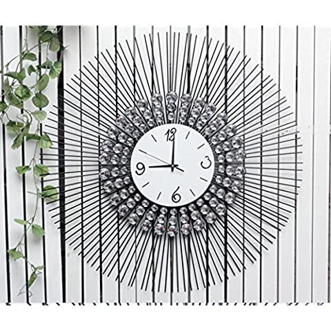 WEIAN grande stile minimalista in ferro battuto orologio da parete