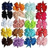 iEFiEL 20 PCS Baby Mädchen Haarspange/Haarclip Haarschleife Stirnband Kopfband Haarband Headband Haarschmuck