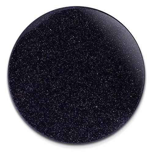 Amello Damen Coins blau dunkelblau 30 mm Einleger Stars Kunststoff Coin D4ESC701B
