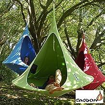 Ambiente Pötschke Cacoon sospeso tenda, 2-posti, verde