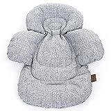 ABC Design 91323701Comfort Seat Liner Salsa Zoom graphite Füllung für Kindersitz, grau