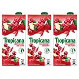 #4: Tropicana Cranberry Delight Fruit Juice, 1L (Pack of 3)