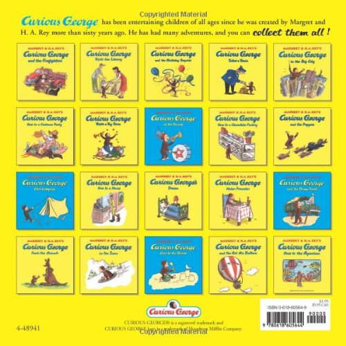Image of Curious George's First Day of School (Curious George) (Curious George 8x8)
