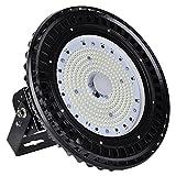 150W UFO LED, illuminazione alta baia, lampadario industriale, negozio di lampade industriali commerciali, lampade da parete, luce bianca 6000K, 18000Lm, impermeabile, AC220V-240V, SMD 5730 Led