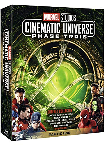 Marvel Studios Cinematic Universe : Phase Trois-Partie Une [Blu-Ray]