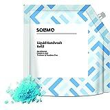Amazon Brand - Solimo Handwash Liquid Refill, Sea Minerals - 1500 ml