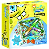 Clementoni 69741 - SpongeBob Schwammkopf Spielesammlung 30 Spiele Möglichkeiten
