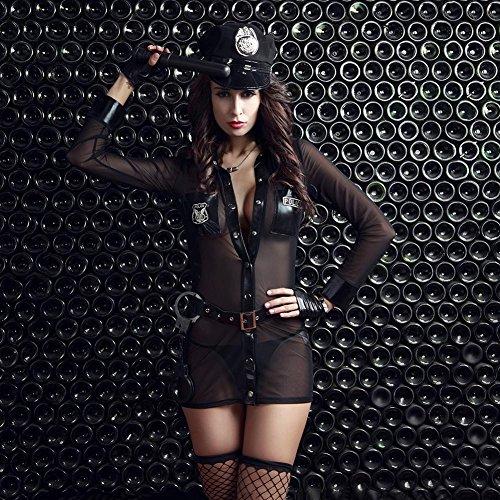 Uniform Myhope Damen Cops Kostüm Cosplay Versuchung Leidenschaft - Cop Uniform Kostüm Frauen