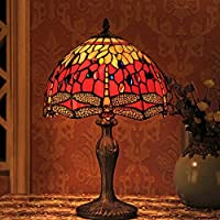 Amazon Fr Vitrail Lampes Table Et Chevet Lampes Luminaires