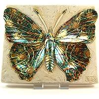 Garry weiß Wandschild–Schmetterling–signiert preisvergleich bei billige-tabletten.eu