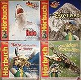 Marvi Hämmer 4 Hörspiele Deutsch und Englisch, Marvi und die Haie, Marvi am Mount Everest, Marvi und die wilden Wikinger, Marvi und die wilden Krokodile.