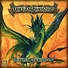 2019 Dragons by Ciruelo 16-Month Wall Calendar: By Sellers Publishing