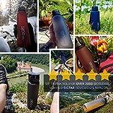Trinkflasche von 720°DGREE – aus Tritan 1l | Wasser-Flasche | Ideale Sportflasche für Kinder, Schule, Sport, Yoga, Wandern, Reisen, Büro, Uni, Auto oder Unterwegs | Frei von BPA, BPS, Phthalate | Die Gesunde Art zu Trinken | +Bonus Abstract - 3