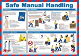 Best Safety Posters - Safe Manual Handling Laminated Poster 59cm x 42cm Review