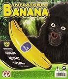 Widmann 2461B Aufblasbare Banane, Gelb