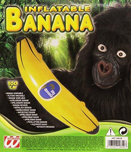 Aufblasbare Banane (NEU Aufblasbare Banane, ca. 100)